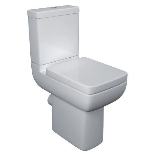 Options 600 Comfort Height Raised Close Coupled Toilet & Soft Close Seat